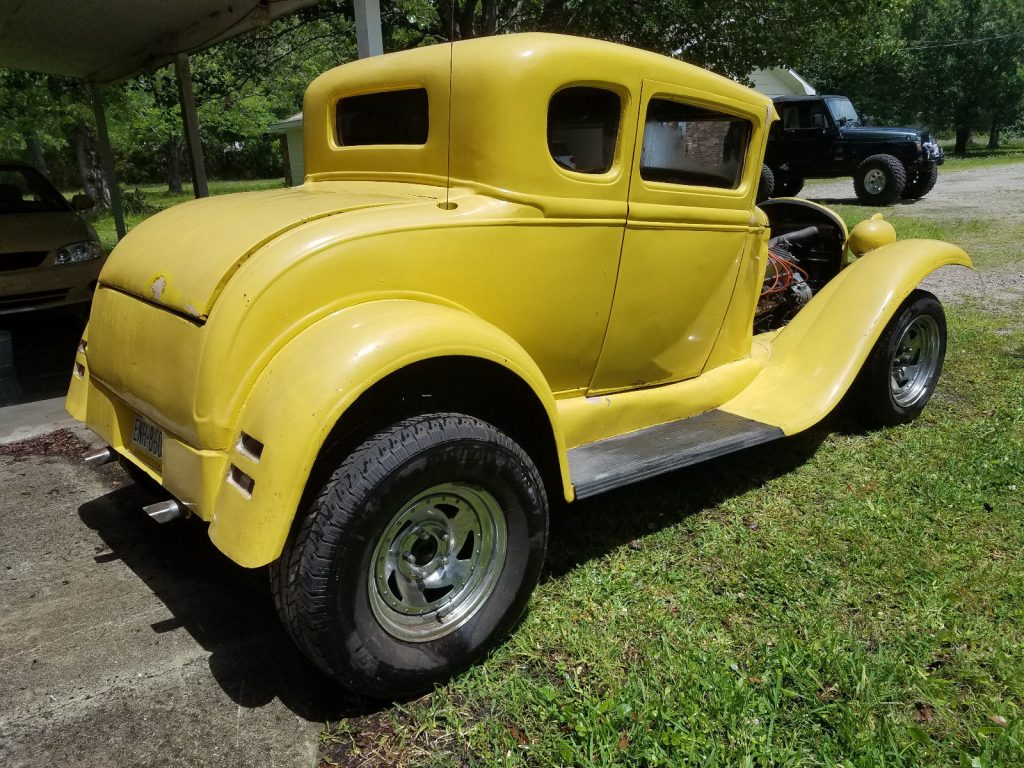 1930 ford model a coupe hot rod for sale. Black Bedroom Furniture Sets. Home Design Ideas