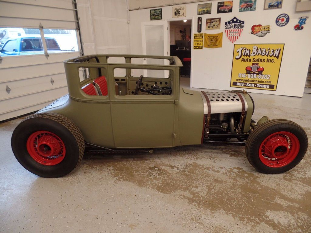 4-banger engine 1927 Ford Model T Rat Rod hot rod