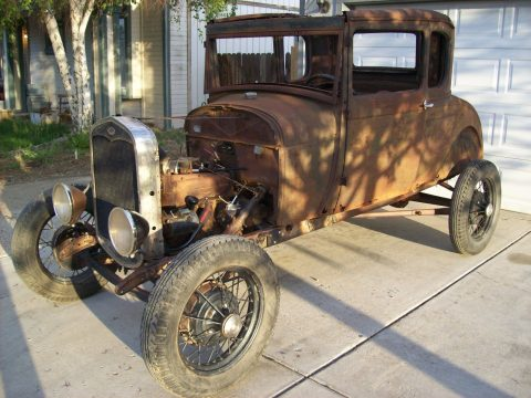 Awesome patina 1928 Ford Model A hot rod for sale