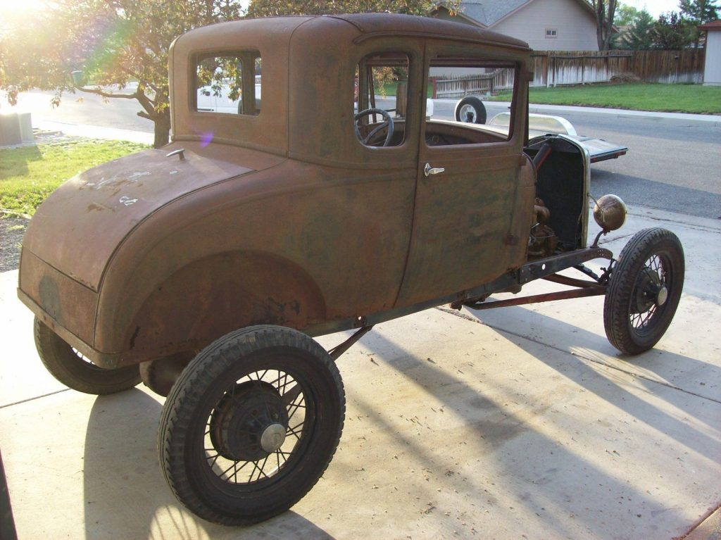 Awesome patina 1928 Ford Model A hot rod