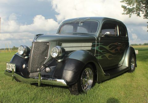 Beautiful restomod 1936 Ford Touring Sedan hot rod for sale
