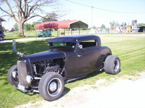 Black beast 1932 Ford coupe hot rod for sale