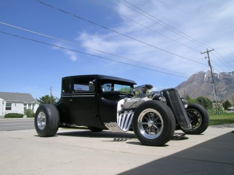 Black devil 1926 Ford Model T hot rod for sale