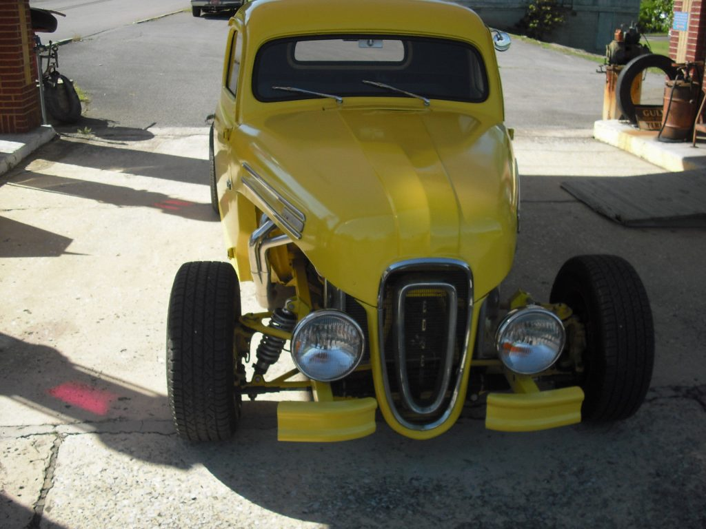 chopped 1950 ford pickup hot rod for sale