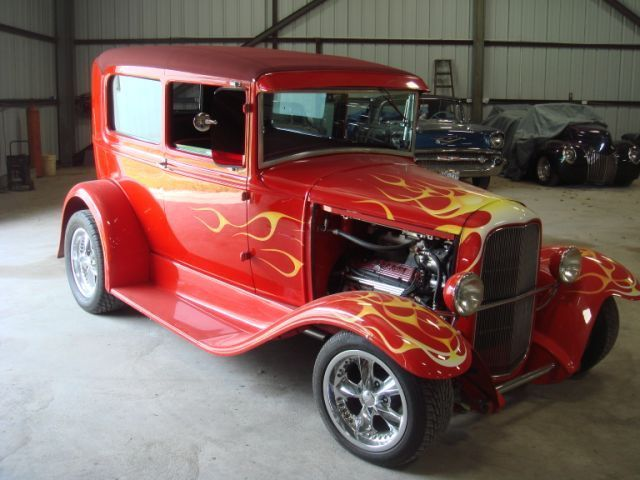 Classic 1930 Ford Sedan Hot Rod For Sale