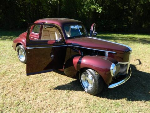 Fresh drivetrain 1940 Studebaker Champion 5 Window hot rod for sale