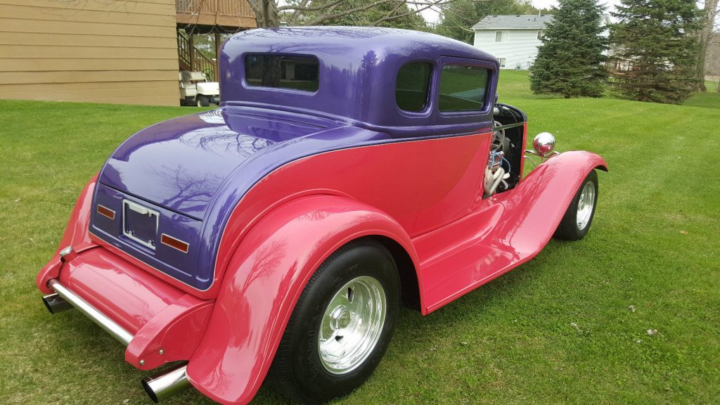 Laser straight 1932 ford model a 5 window coupe hot rod for 1932 ford 5 window coupe sale