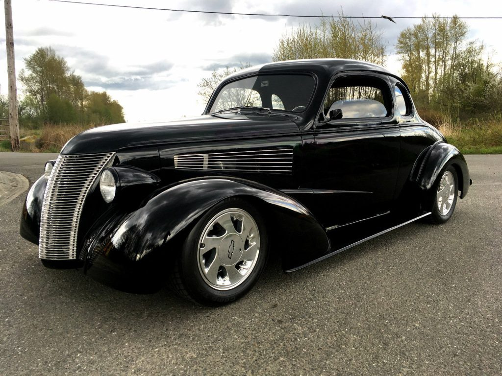 Rad winner 1938 chevrolet buisness coupe for sale for 1938 chevy 4 door sedan for sale