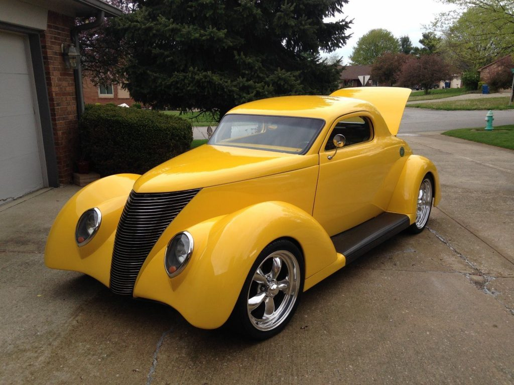 Show Winner 1937 Ford Hot Rod on hidden car stereo system for sale