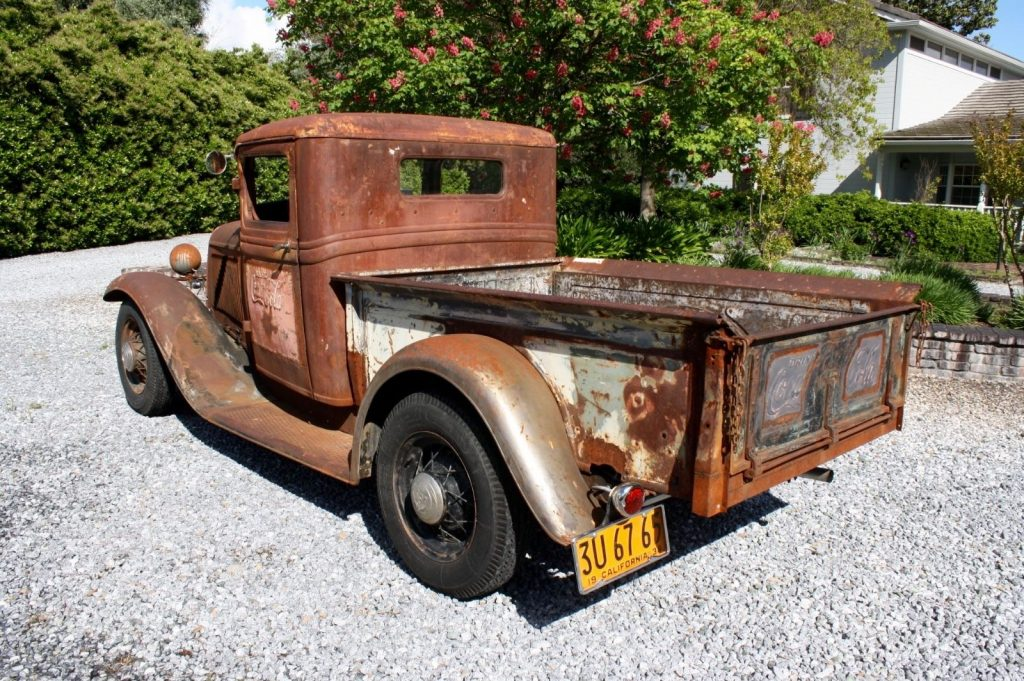 Survivor with patina 1934 Ford Pickups hot rod