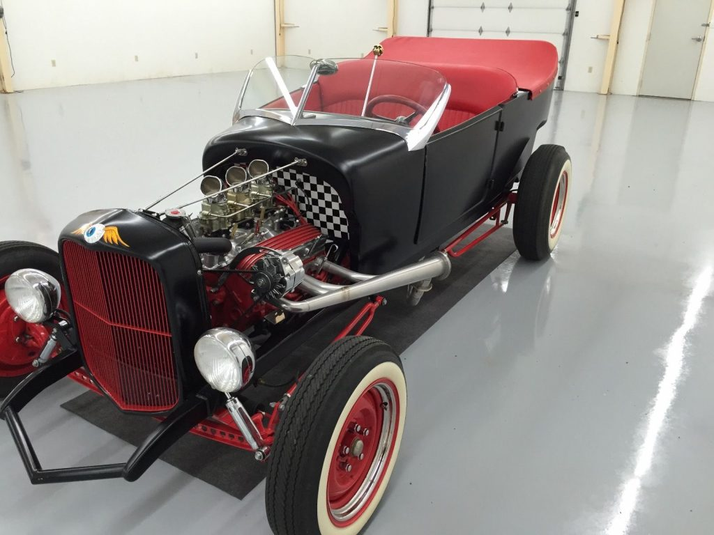 Touring body 1927 Ford Model T hot rod