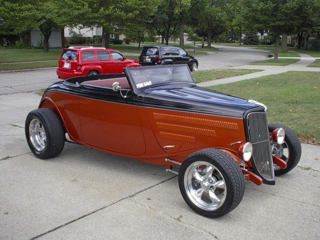 Awesome roadster 1934 Ford hot rod