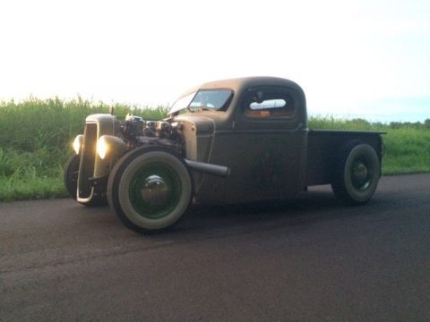 Chopped 1940 Chevrolet Pickups hot rod for sale