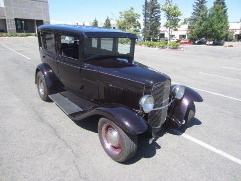 Low mileage 1930 Ford Model A Hot Rod for sale