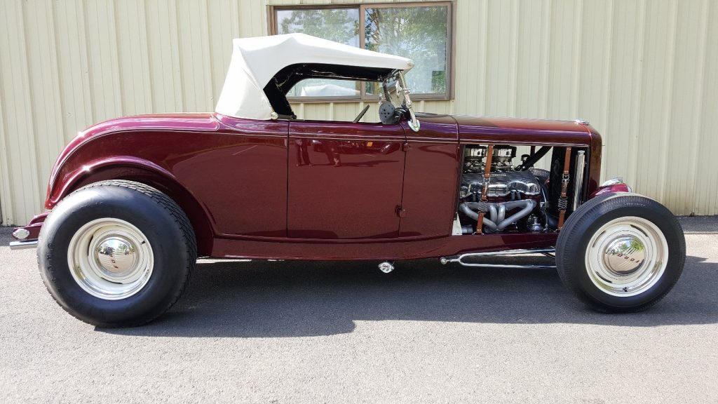 Meticulous Build 1932 Ford Convertible Hot Rod For Sale