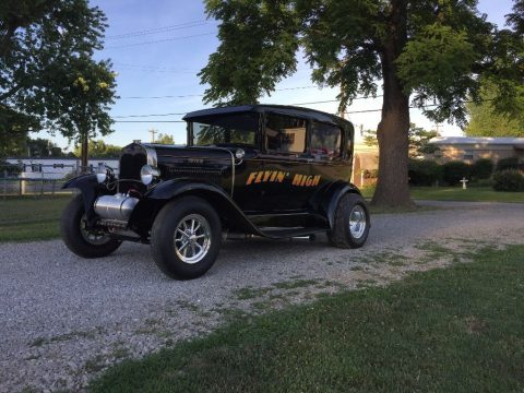 Street gasser 1931 Ford Model A Tudor hot rod for sale