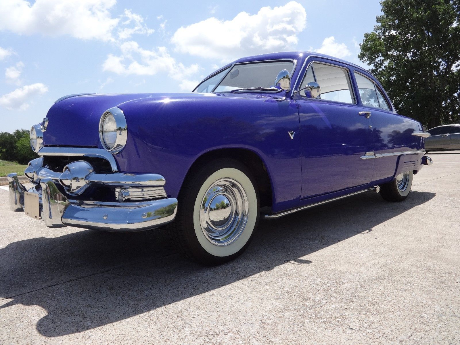 street machine 1951 ford two door sedan hot rod for sale