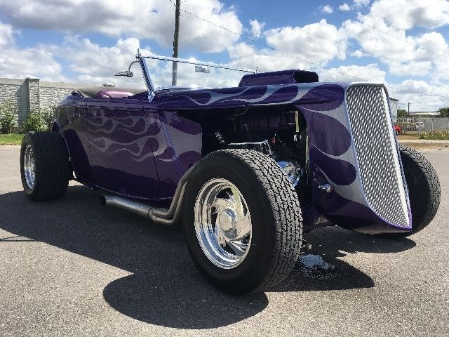 Supercharged 1934 Ford Roadster hot rod