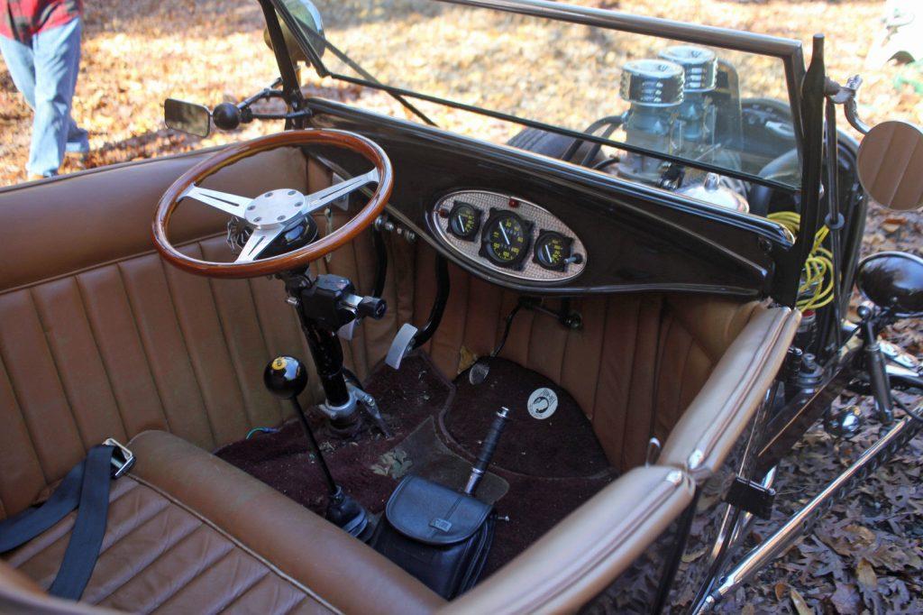 Vintage build 1923 Ford Model T Hot Rod