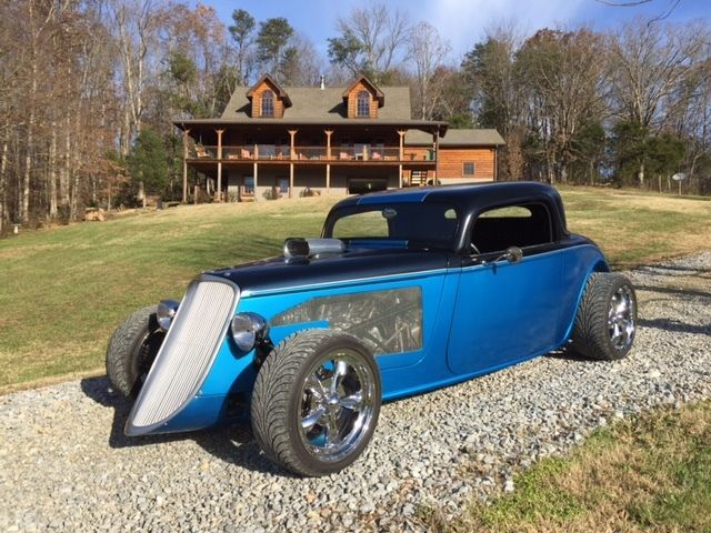 Blast to drive 1933 Ford hot rod