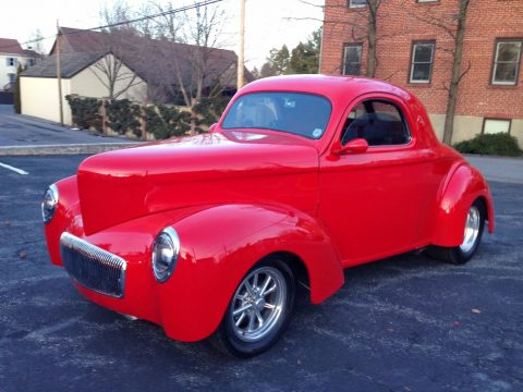 Classic Collector 1941 Willys Coupe V8 Street Rod Hot rod for sale