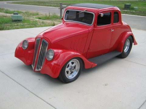 Fiberglass body 1933 Willys coupe hot rod for sale