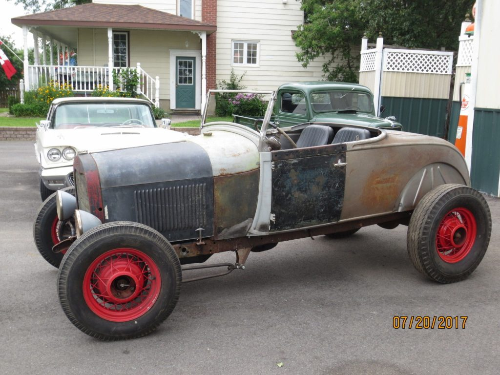Needs finishing 1929 Ford Roadster hot rod