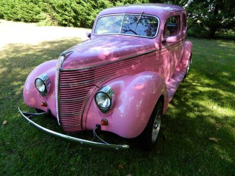 Pink Lady 1938 Ford Hot Rod Tudor for sale
