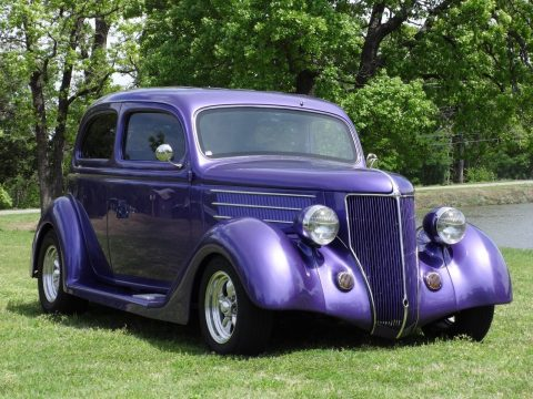 Professionally built 1936 Ford Street Rod Sedan hot rod for sale