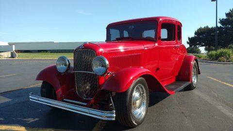 Red devil 1932 Ford Model hot rod for sale
