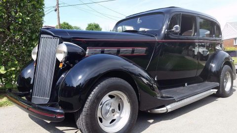 Small dings 1937 Packard 120 hot rod for sale