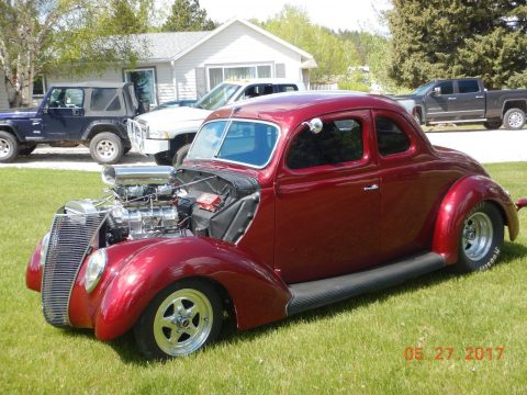 steel beast 1937 Ford hot rod for sale
