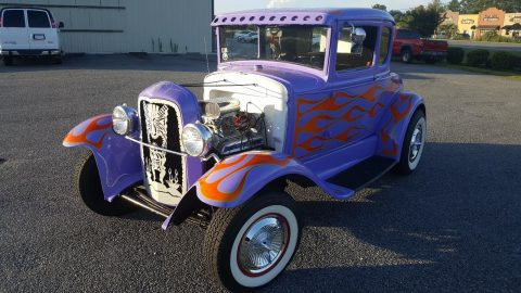 Super cool 1931 Ford Model A All Steel Hot Rod for sale
