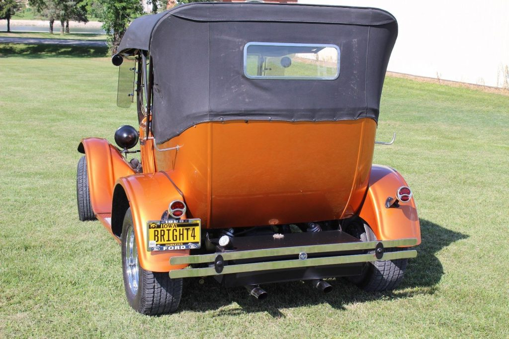 badass 1928 Ford Model A hot rod
