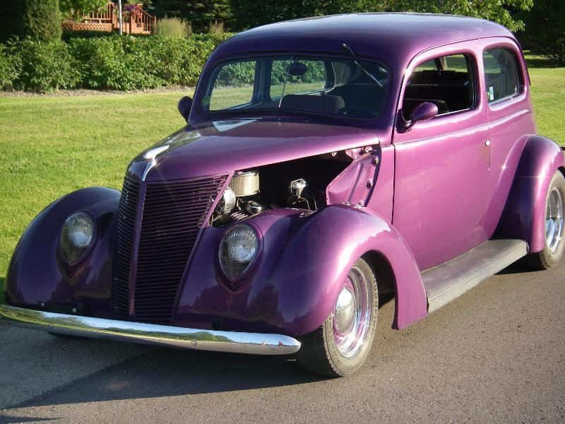 Blast to drive 1937 ford 2 door sedan hot rod for sale for 1937 ford two door sedan