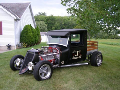Bored and Stroked 1928 Ford Model A hot rod for sale