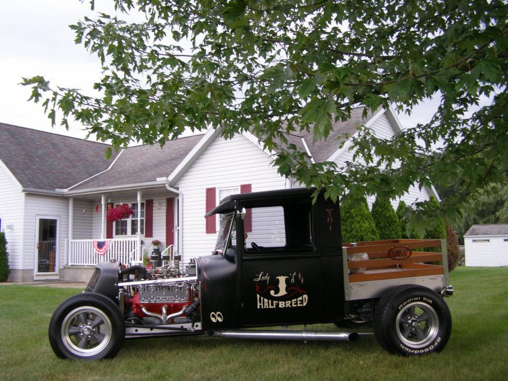 Bored and Stroked 1928 Ford Model A hot rod