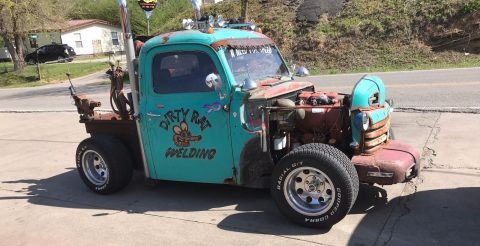 Deutz engined 1950 Ford Rat Rod Hot Rod for sale