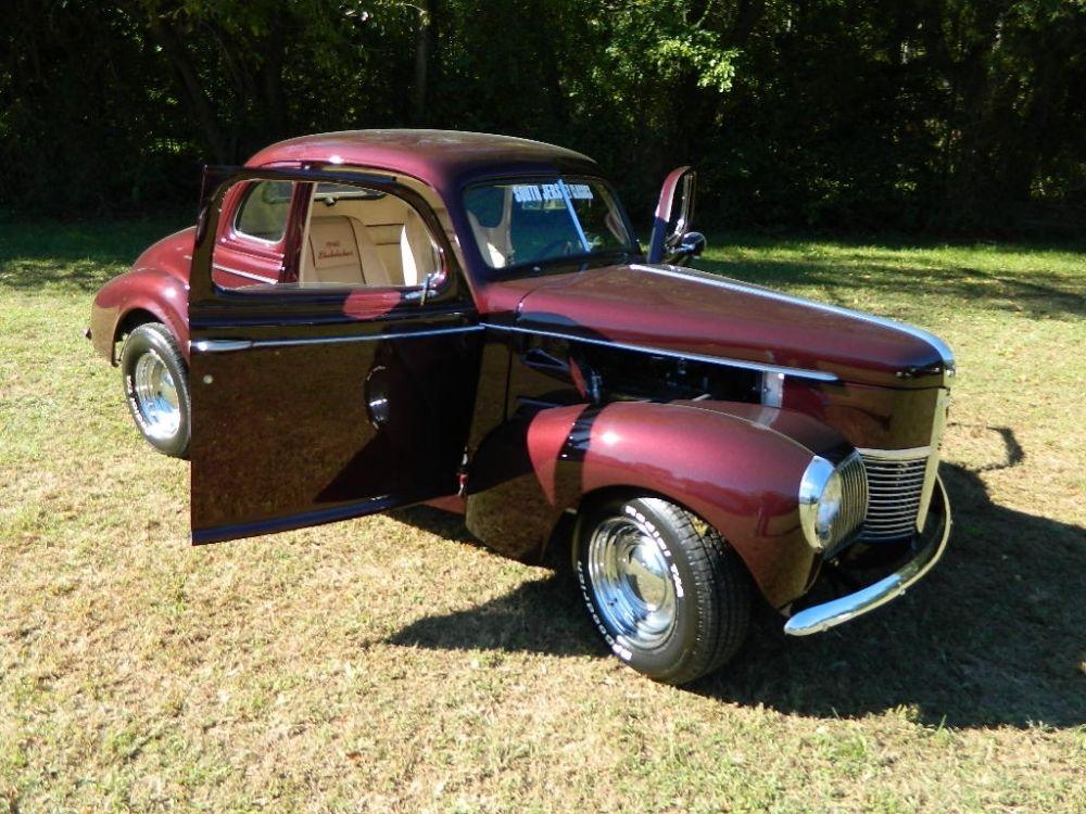 new interior 1940 Studebaker Champion hot rod