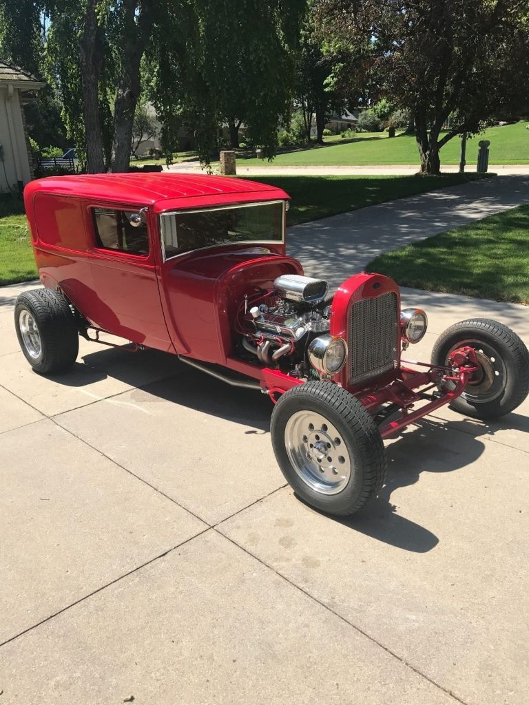 newer build 1928 Ford Model A hot rod