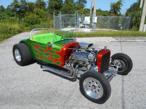 Old School 1927 Ford Model T Roadster Hot Rod for sale
