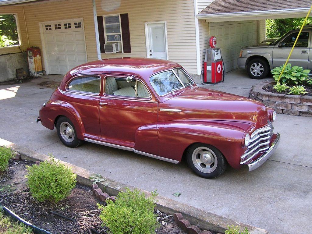 older build 1947 Chevrolet hot rod