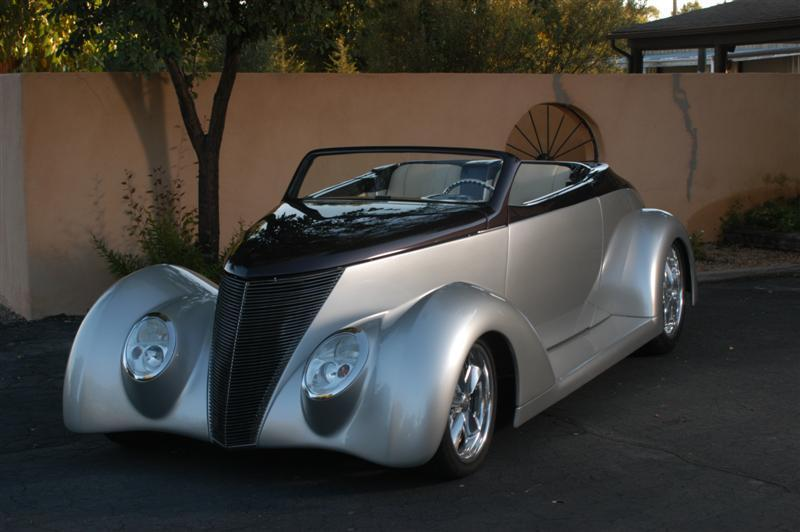 One Of A Kind 1937 Ford Coupe Hot Rod For Sale