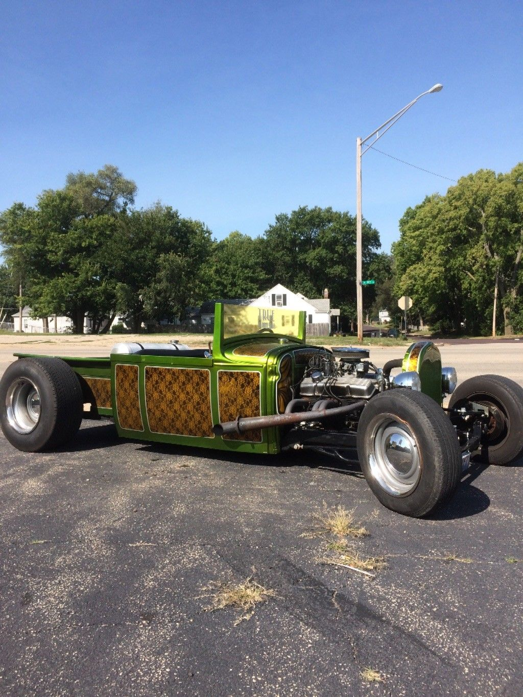 awesome paintjob 1930 ford model a hot rod for sale. Black Bedroom Furniture Sets. Home Design Ideas