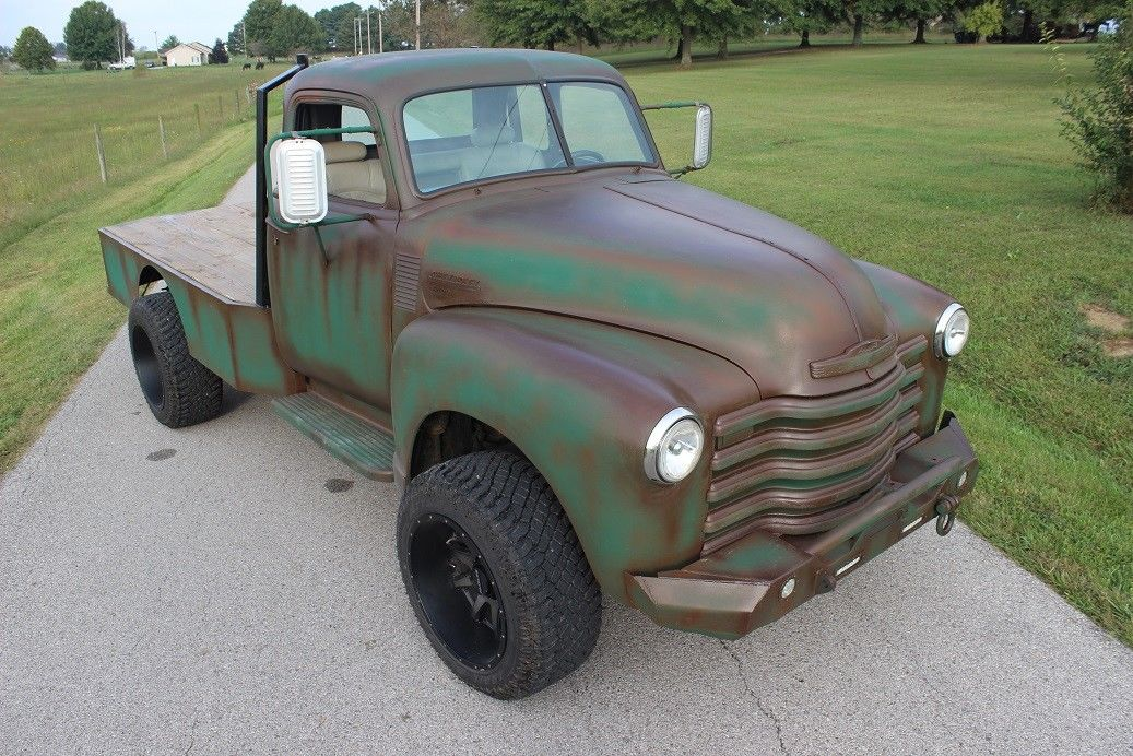 rod chevy 1949 trucks pickup chevrolet classic truck pickups engine rat rods dodge lifted flatbed diesel gm cars dually club