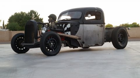 new headers 1942 Ford F 100 hot rod for sale