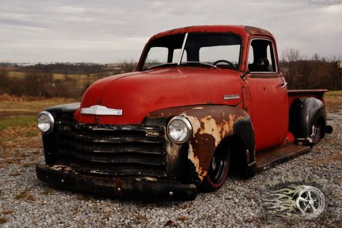 Patina 1950 Chevrolet C 10 Hot rod for sale
