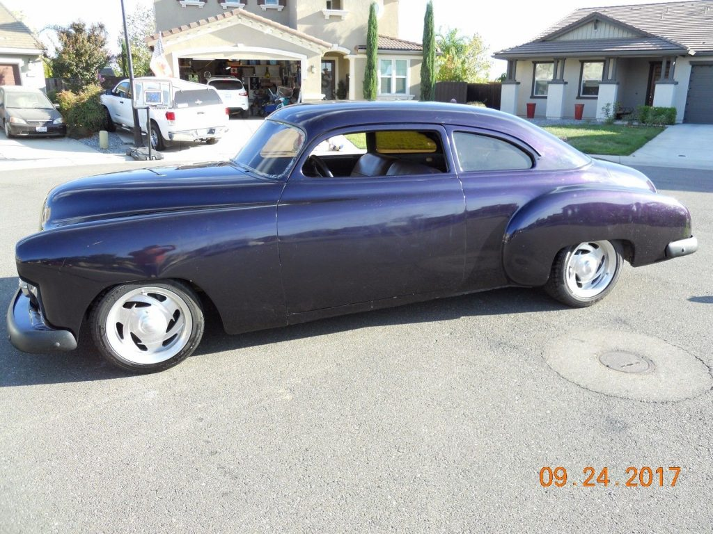 purple bullet 1950 Chevrolet Full Custom hot rod