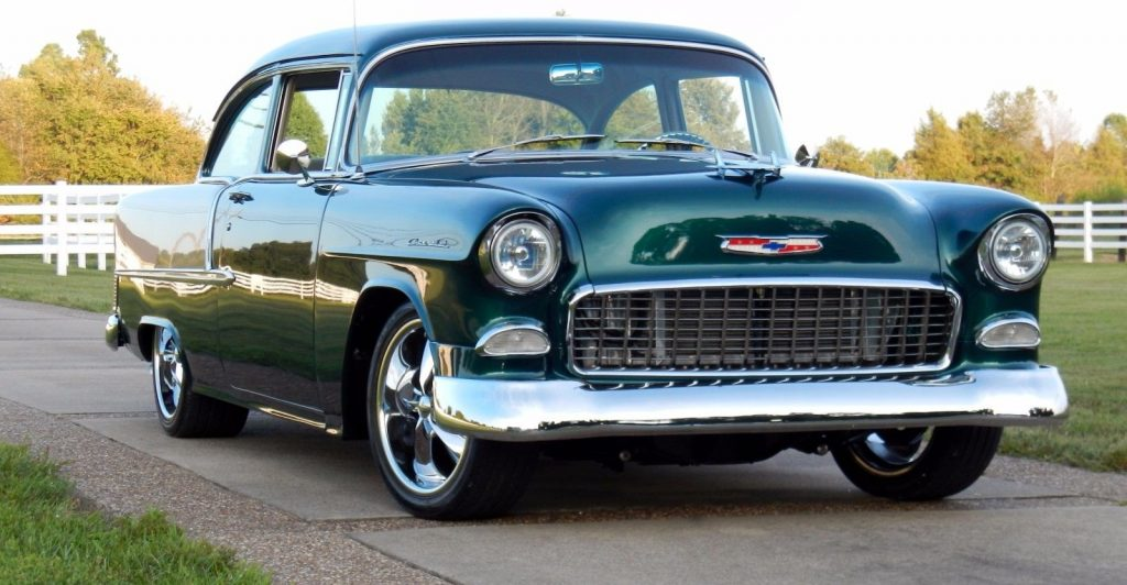 badass 1955 Chevrolet Bel Air/150/210 hot rod