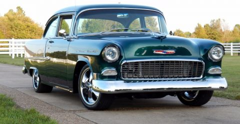 badass 1955 Chevrolet Bel Air/150/210 hot rod for sale